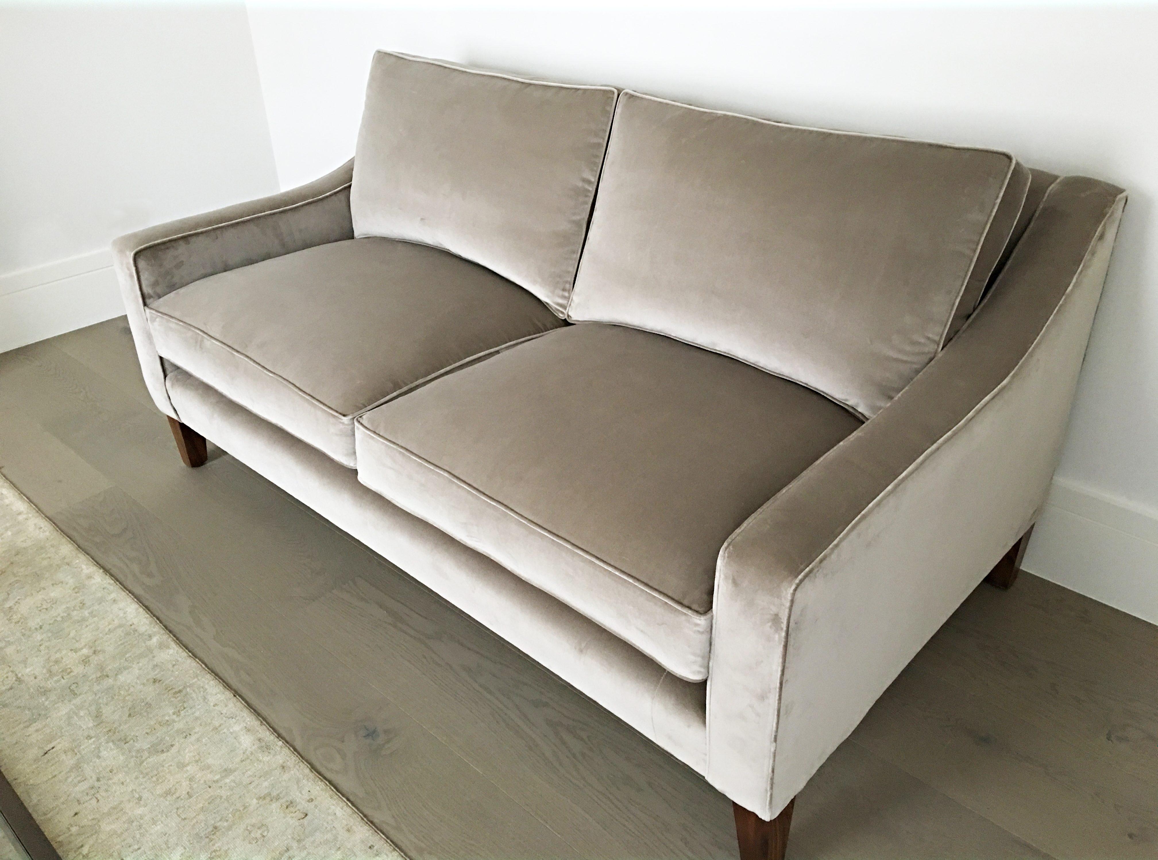 Mayfair Velvet Sofa – Style and Comfort Ltd